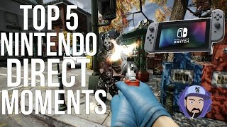 Top 5 Nintendo Direct Moments - 4.12.2017 | RGT 85