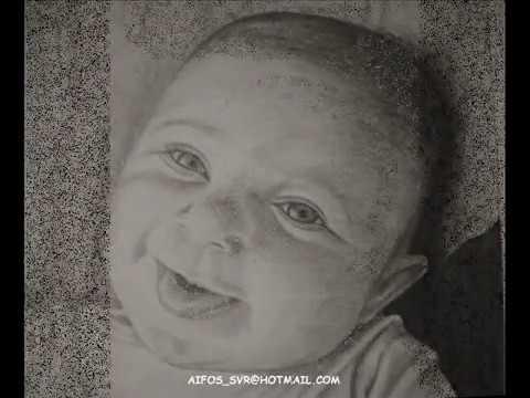 how to draw a little boy Como dibujar un beb  YouTube