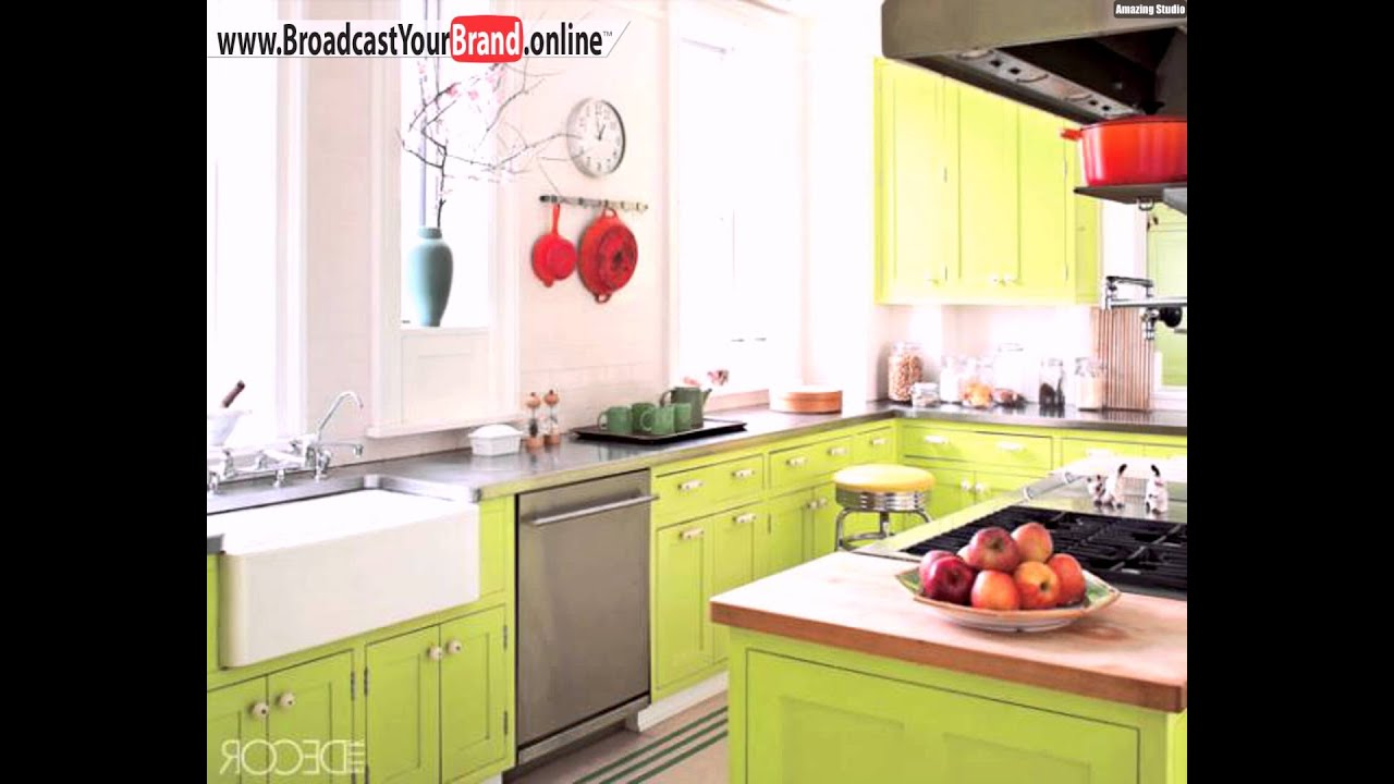 Tipps Ideen Küchenfenster Grüne Schränke Vase Tiefer Fensterrahmen