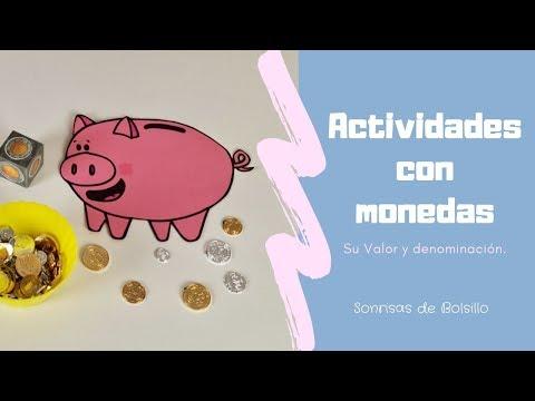 Matemáticas Con Monedas. Valor Y Denominación.