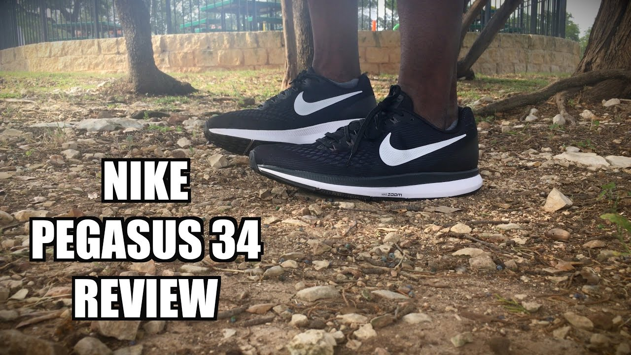 a5097f5535a Nike Pegasus 34 REVIEW - YouTube