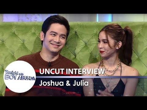 TWBA Uncut Interview: Joshua Garcia & Julia Barretto