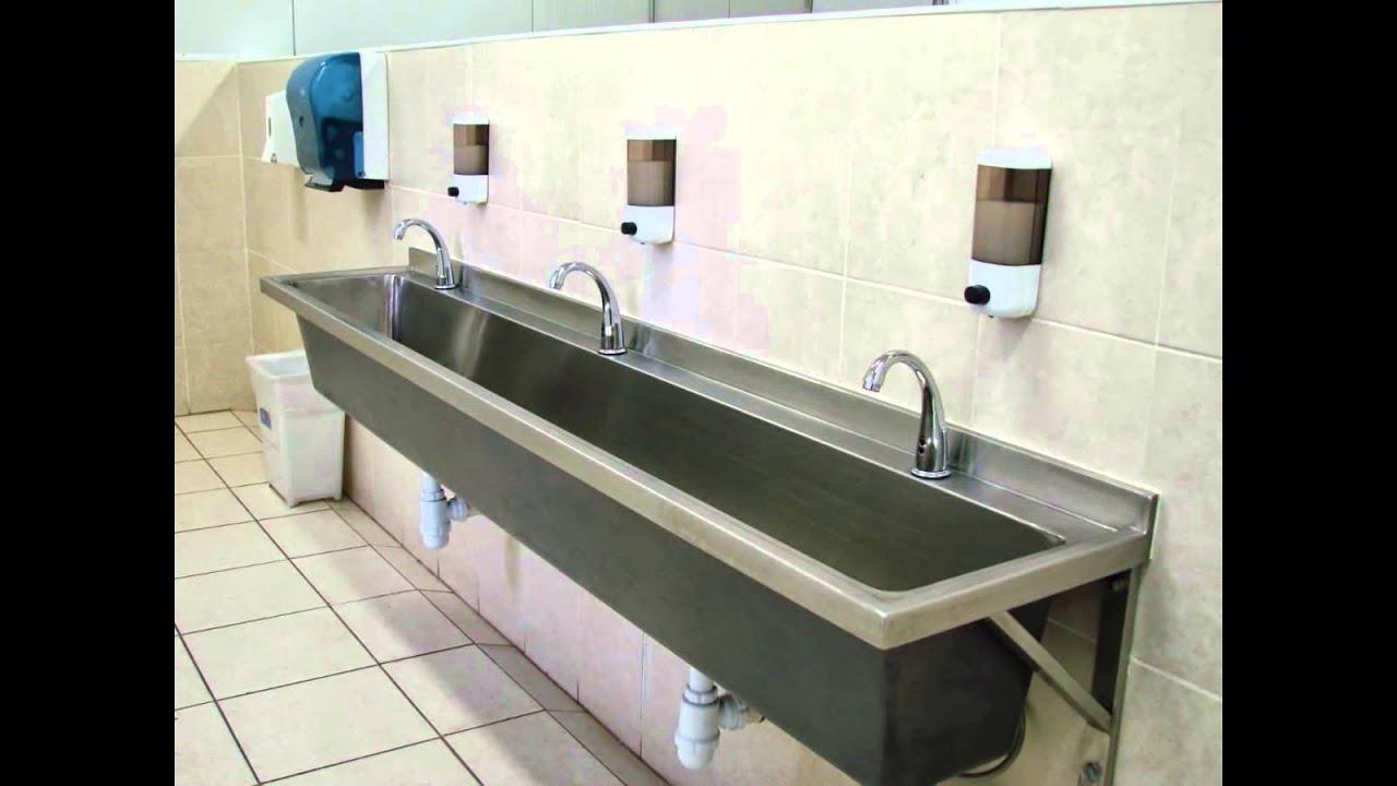 Empresas de lavamanos de acero inoxidable para bares youtube - Lavabo de acero inoxidable ...