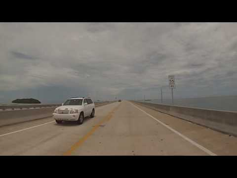 Florida Keys - Drive through Big Pine Key, Bahia Honda and Marathon HD (2016)