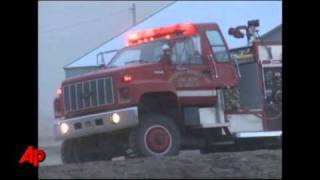 Entire Kan. Town Evacuated for Grass Fire