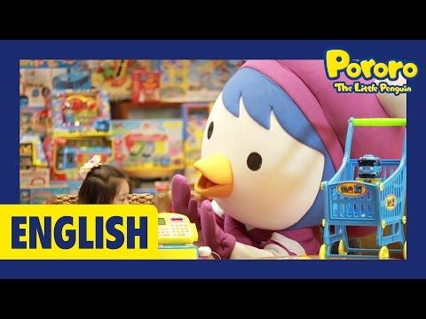 [Pororo Playday] Toy Island   Treasure hunt!   Pororo toys   Toy unboxing