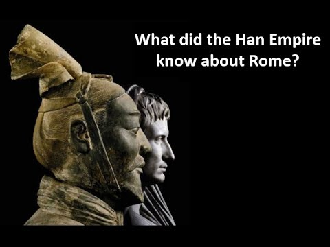 Did the Chinese Empire know about the Romans?