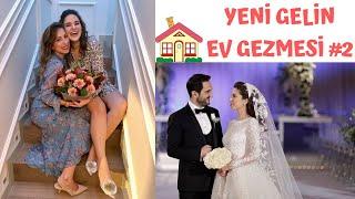 YENİ GELİN EV GEZMESİ #2/Kına Gecesi- Melis İlkkılıç Düğün Makyajı- Zuhair Murad Gelinlik- Ev turu