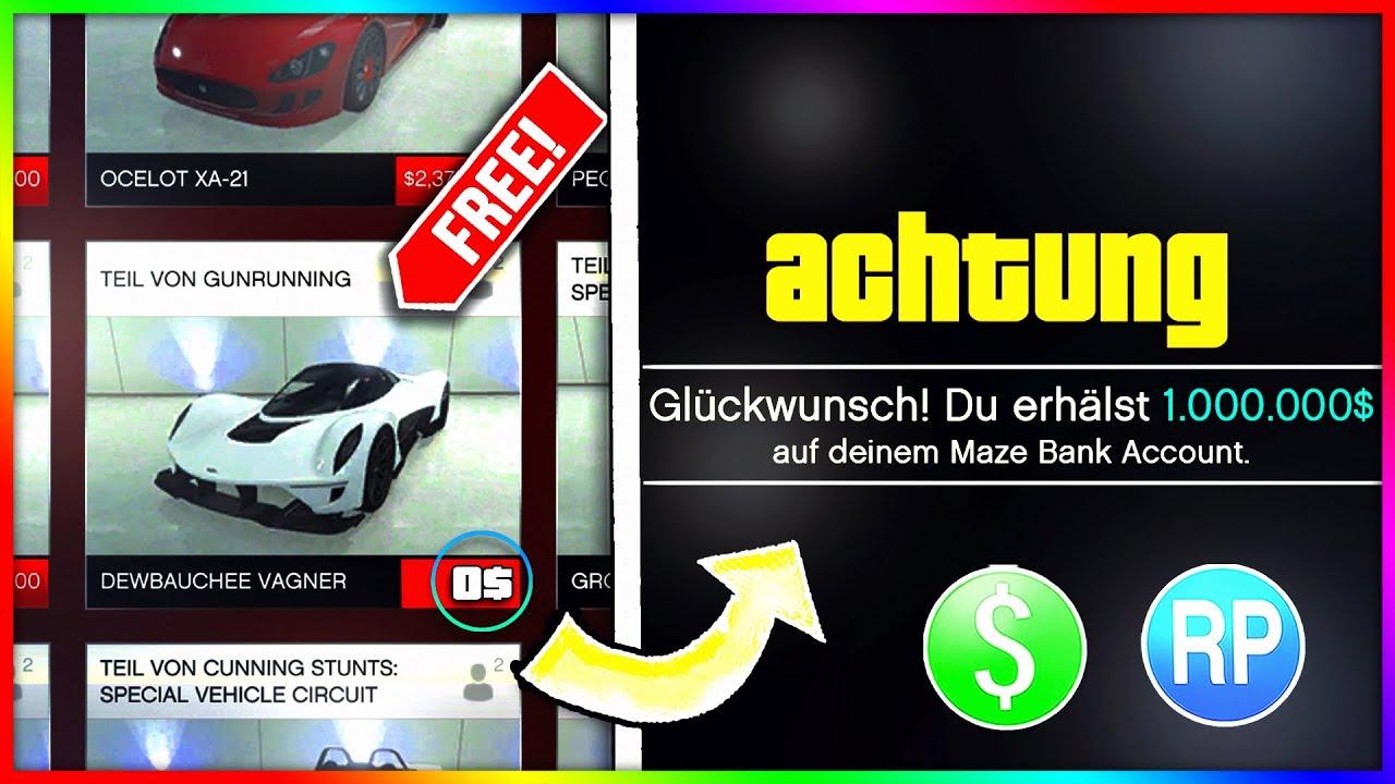 1 MIO $ KOSTENLOS! GTA 5 GELD MACHEN! 💵 NEUE EVENTWOCHE! (GTA 5 Online Update)