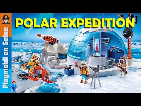 playmobil polar expedition nouveaut 2016 2017 playmo youtube