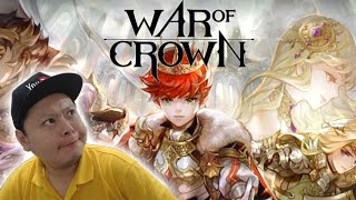 Awesome SRPG Game! War of Crown - 300 Garnet Summon, Gameplay Introduction & How To Reroll
