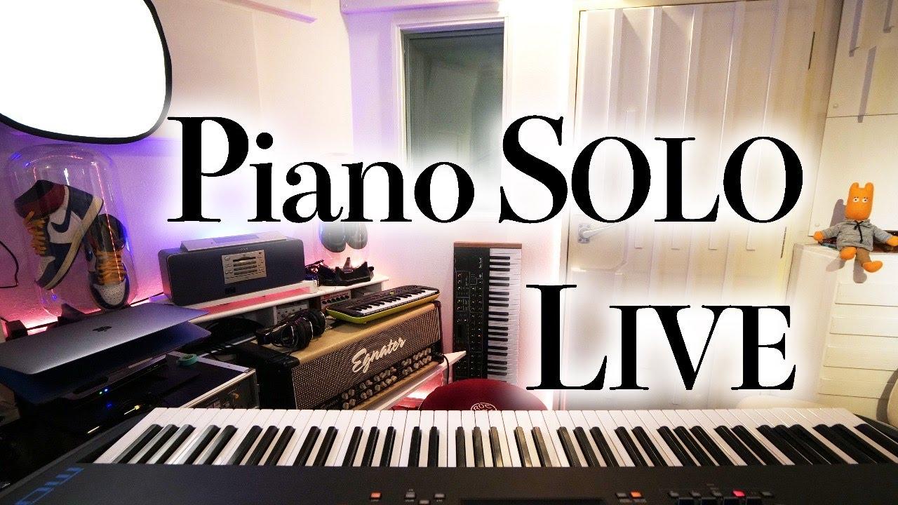 【生放送】3000人登録ありがとうピアノソロLIVE