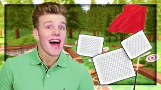 A SQUARE GOLF BALL?! | Golf with Friends!