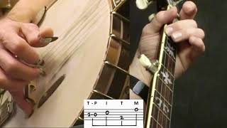 Cripple Creek Variations (Video 2 of 2): Bluegrass Banjo Lesson