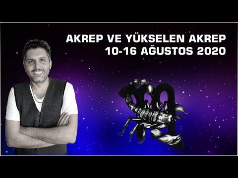 AKREP BURCU VE YÜKSELEN AKREP 10-16 AĞUSTOS HAFTASI (Astrobox)