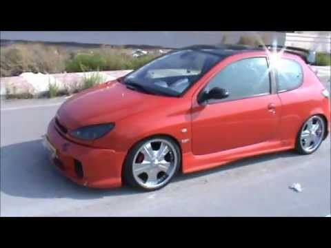 peugeot 206 gti tuning youtube. Black Bedroom Furniture Sets. Home Design Ideas