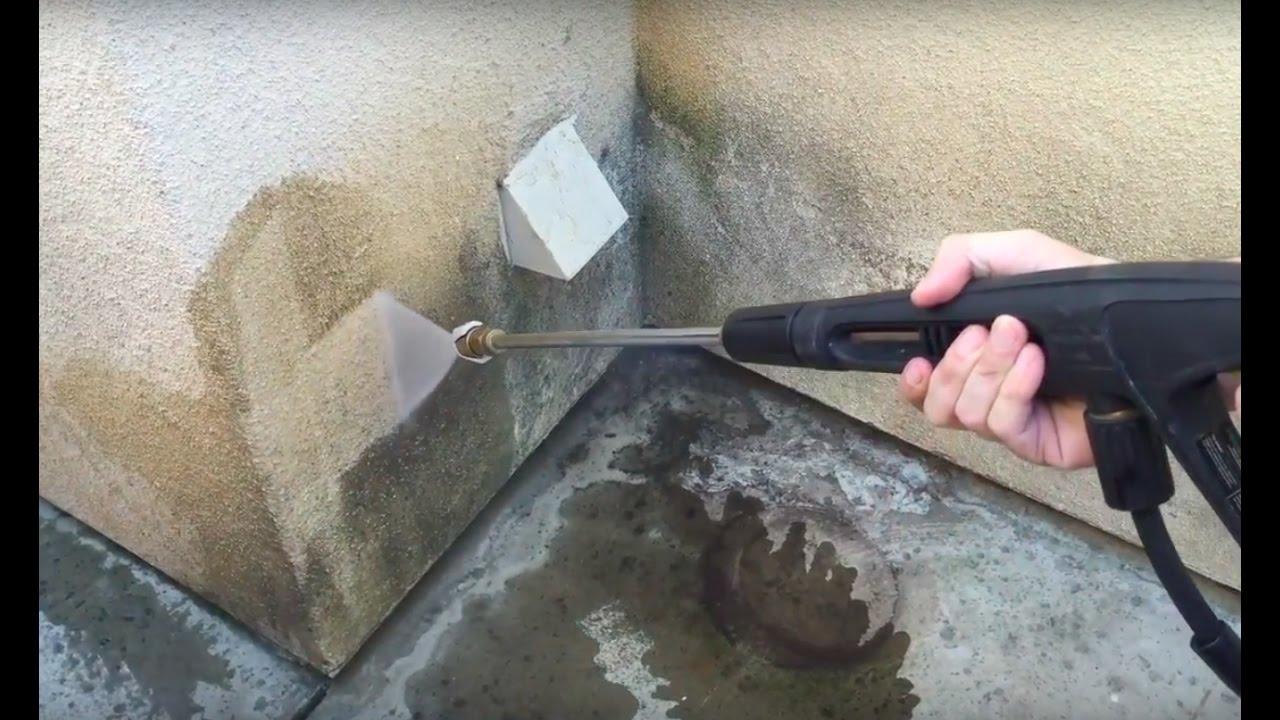 pressure washing stucco youtube