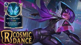 Cosmic Dance - Irelia , Taric \u0026 Out of the Way Deck - Legends of Runeterra Gameplay - Patch 2.10.0