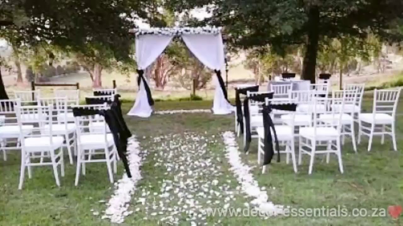 Tiffany Wedding Chairs Hanging Chair Diy Wholesaler South Africa Youtube