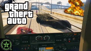 The Dumbest Things Wę Can Do On the Subway - GTA V