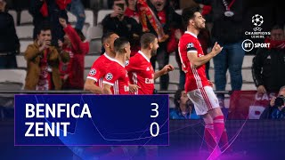 Benfica vs Zenit (3-0) | UEFA Champions League Highlights