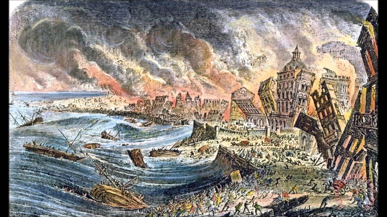 The most destructive Tsunamis | Lisbon, Portugal 1755