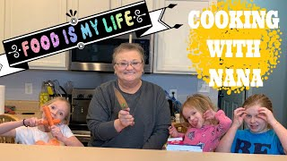 Kids In The Kitchen | Cooking Chowder With Nana