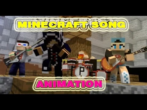 Minecraft Song Animation - version 'I'll Be There'