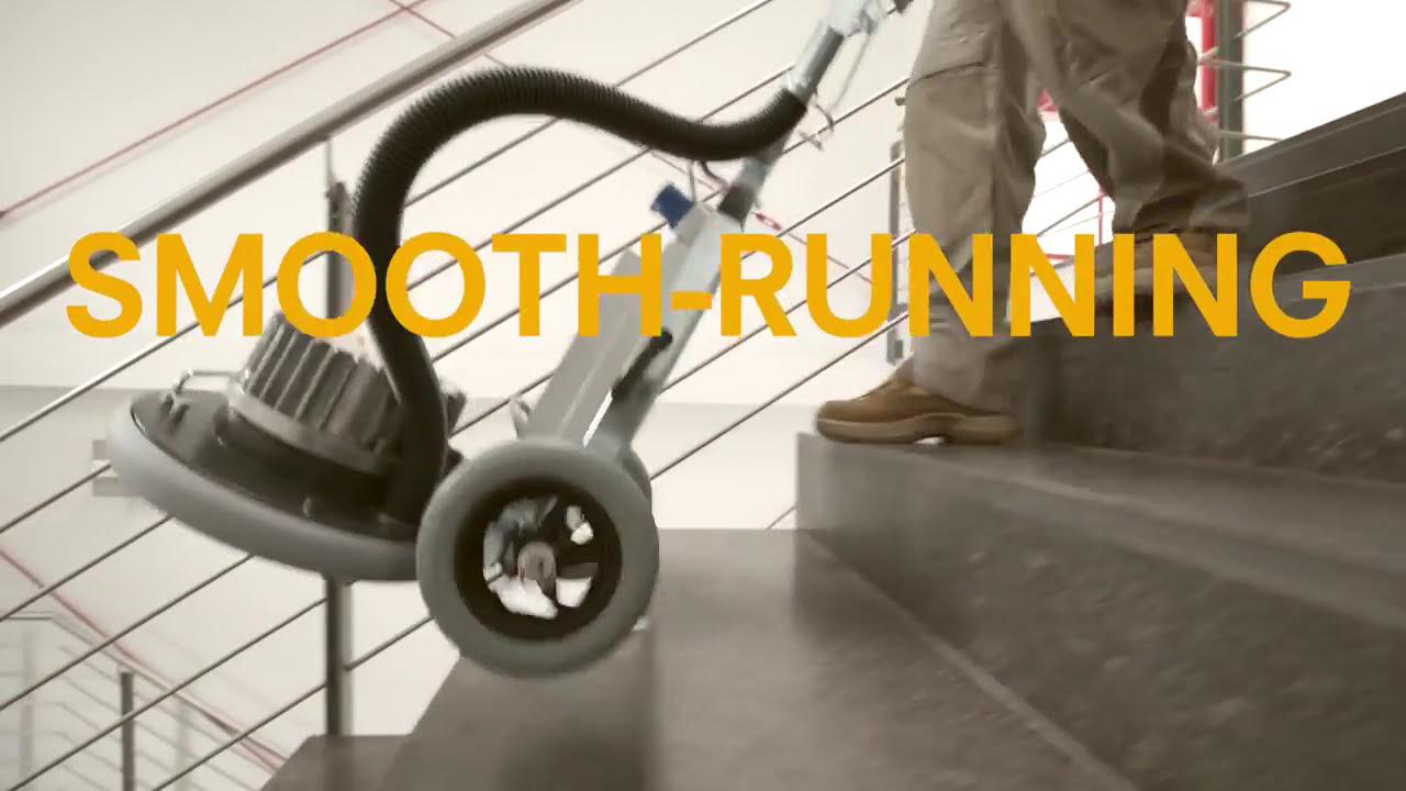 Frank Pallmann Spider Wood Floor Sanding Machine Youtube