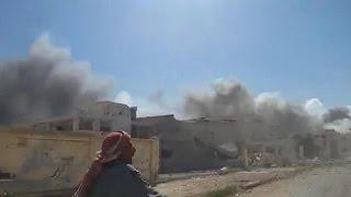"""غارات روسية جديدة تستهدف """"مواقع لإرهابيين"""" في سوريا      1-10-2015"""