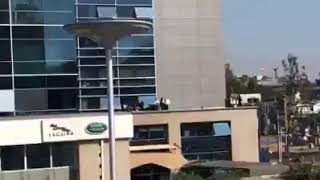 BREAKING: Shock in Westlands as a man jumps off Delta Towers! (Stephen Mumbo)