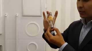 Презентация светодиодной лампы Е27 с прозрачным стеклом(, 2014-09-17T05:13:39.000Z)
