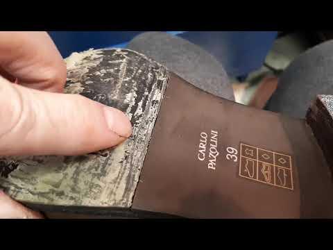Ремонт обуви.Опять косяки мастеров.