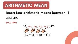 ARITHMETIC MEAN | LMT101