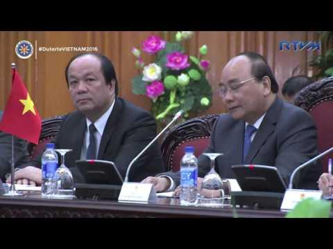 Courtesy Call on Prime Minister Nguyễn Xuân Phúc 9/29/2016