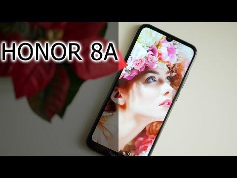 ОБЗОР   Недорогой смартфон Honor 8A с NFC