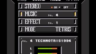 Super Tetris 3 - Technotris Music - User video