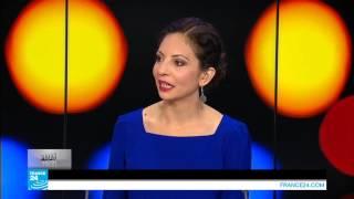 ...المغنية الجزائرية نادية ريان: غنيت لغزة تضامنا مع الش