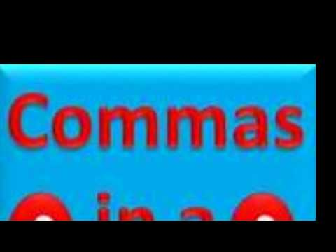 Did You Know: Commas in a Series