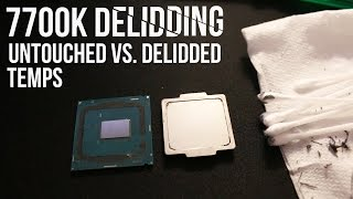 i7 7700k delidding results is it worth it