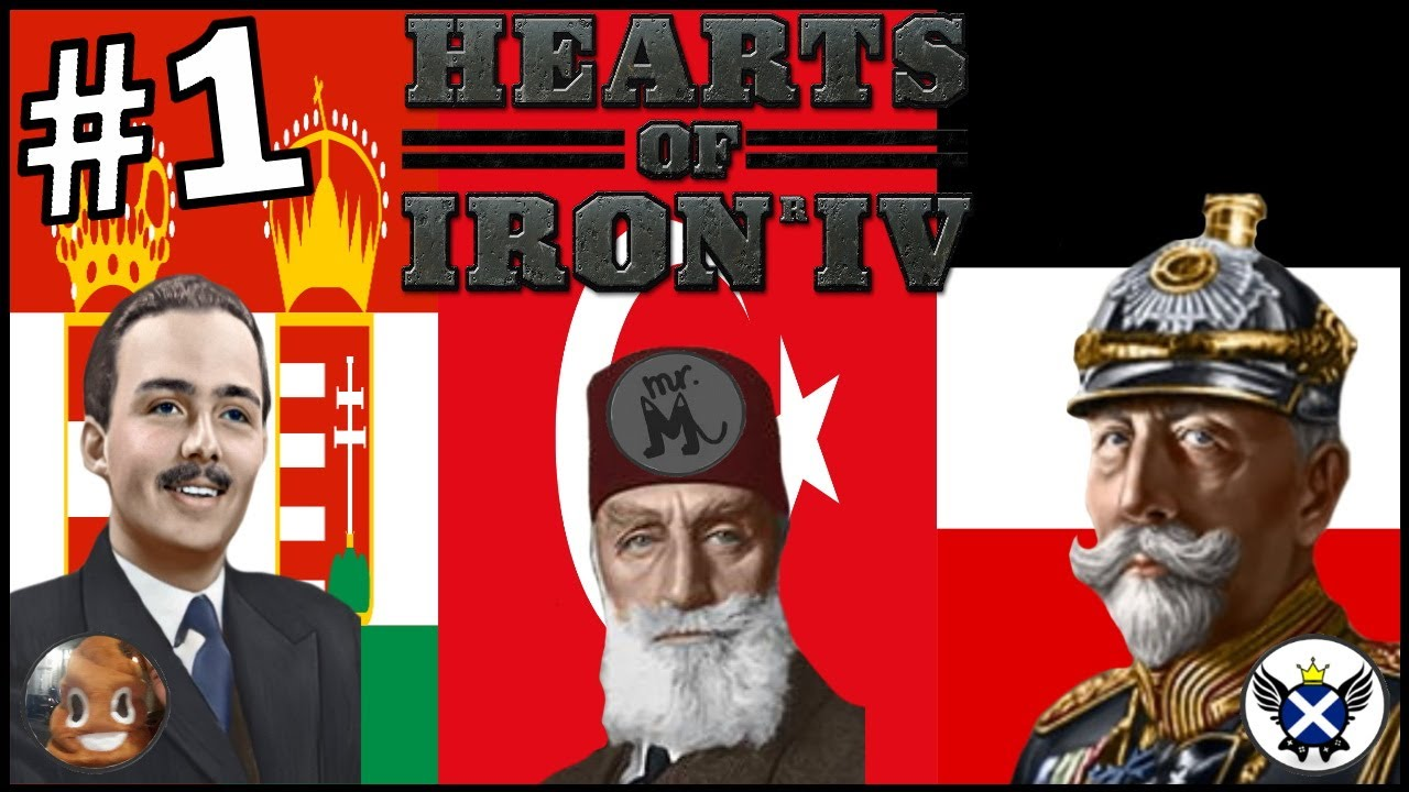 The German Civil War! | HOI4 German Empire #1 (ft.@TakkieSenpai & @MrMochalover)