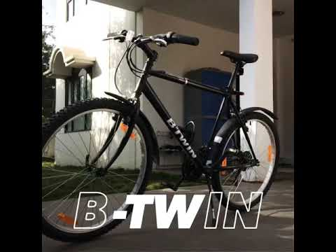 B Twin Rockrider 300 Bicycle Decathlon