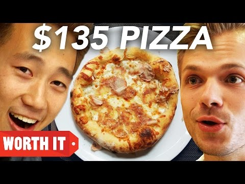 Thumbnail: $5 Pizza Vs. $135 Pizza
