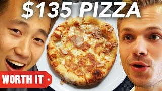 "$5 Pizza Vs. $135 Pizza(That is an indescribable taste."" GET MORE BUZZFEED: www.buzzfeed.com/videoteam www.facebook.com/buzzfeedvideo www.instagram.com/buzzfeedvideo ..., 2016-10-02T20:00:01.000Z)"