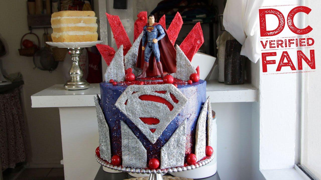 Batman V Superman Superman Birthday Cake Koalipops