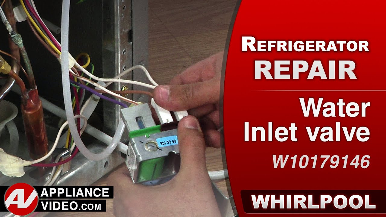 Whirlpool refrigerator water hook up