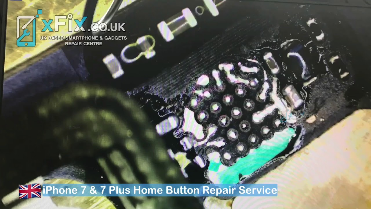 detailed look 59626 df9ff iPhone 7/8 Home Button Not Working/Touch ID Repair - Turtle/U10 IC  Replacement - xFix.co.uk