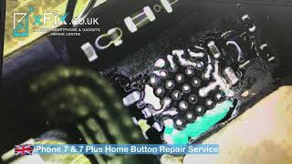 iPhone 7/8 Home Button Not Working/Touch ID Repair - Turtle/U10 IC Replacement - xFix.co.uk
