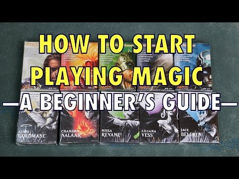 How To Start Playing Magic: The Gathering - A Beginner's Guide To MTG