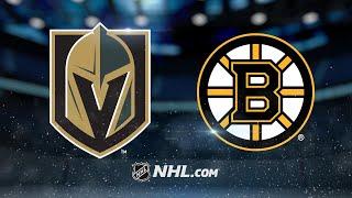 Nash, Kuraly propels Bruins past Golden Knights, 2-1